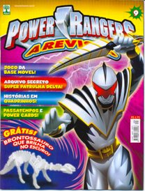 POWER RANGERS nº009 - EDITORA ABRIL