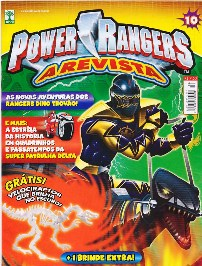 POWER RANGERS nº010 - EDITORA ABRIL