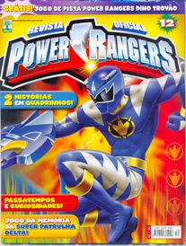 POWER RANGERS nº012 - EDITORA ABRIL