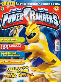 POWER RANGERS nº013 - EDITORA ABRIL