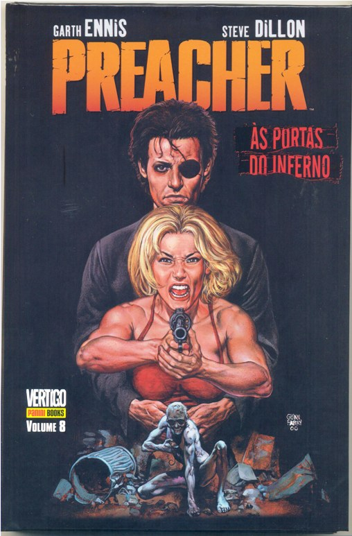 PREACHER VOLUME 08 - ÀS PORTAS DO INFERNO - ED. PANINI