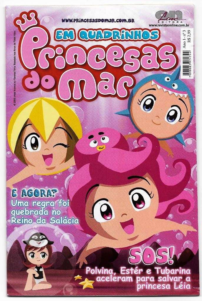 PRINCESAS DO MAR nº03 - EDITORA ON LINE