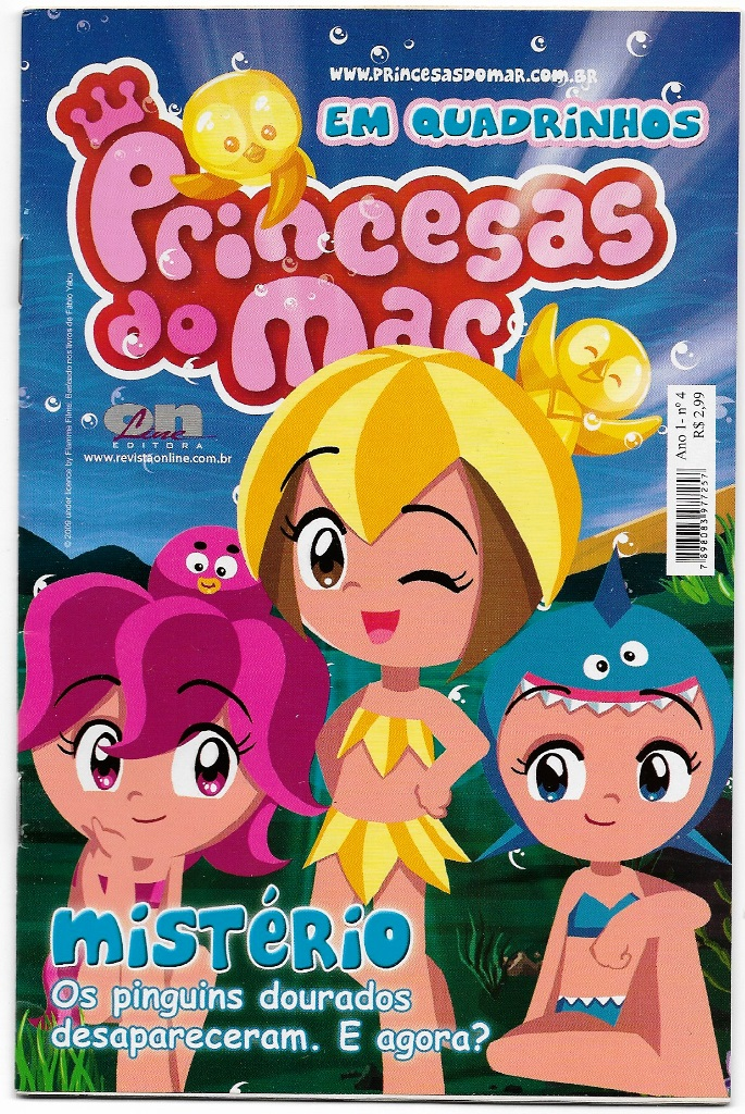 PRINCESAS DO MAR nº04 - EDITORA ON LINE