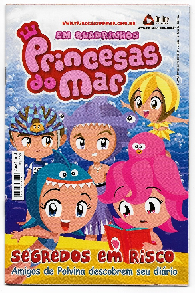 PRINCESAS DO MAR nº05 - EDITORA ON LINE