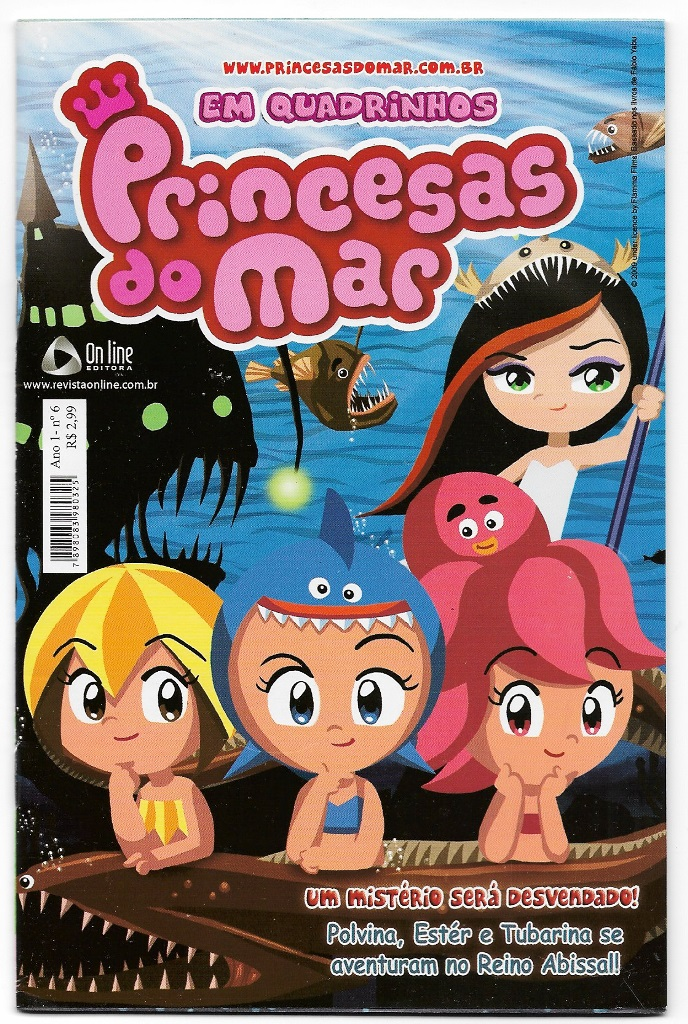PRINCESAS DO MAR nº06 - EDITORA ON LINE