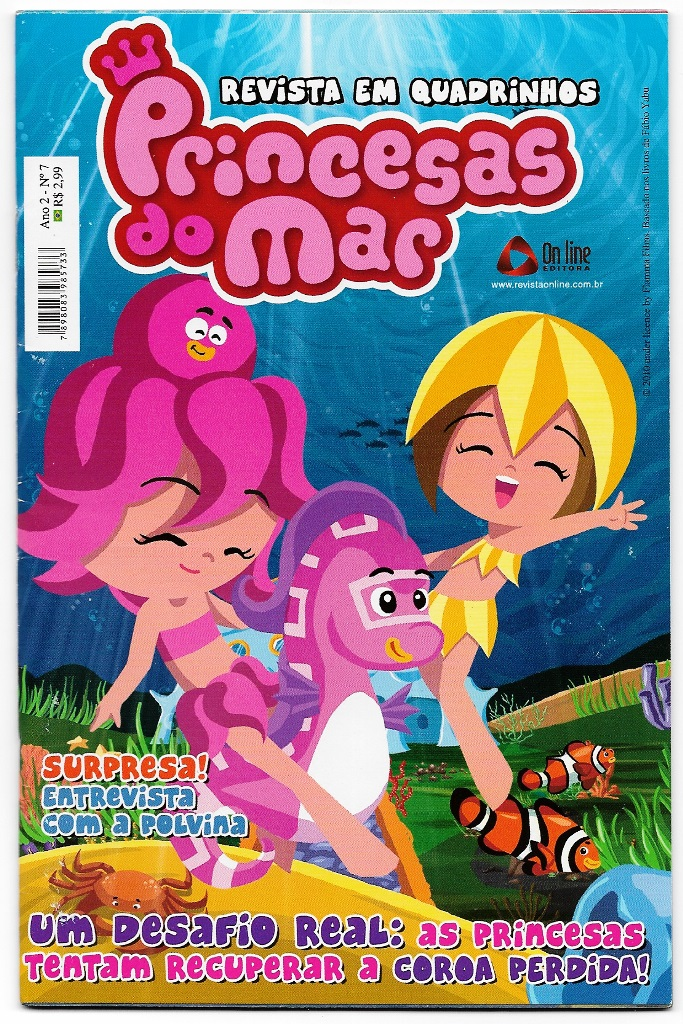 PRINCESAS DO MAR nº07 - EDITORA ON LINE