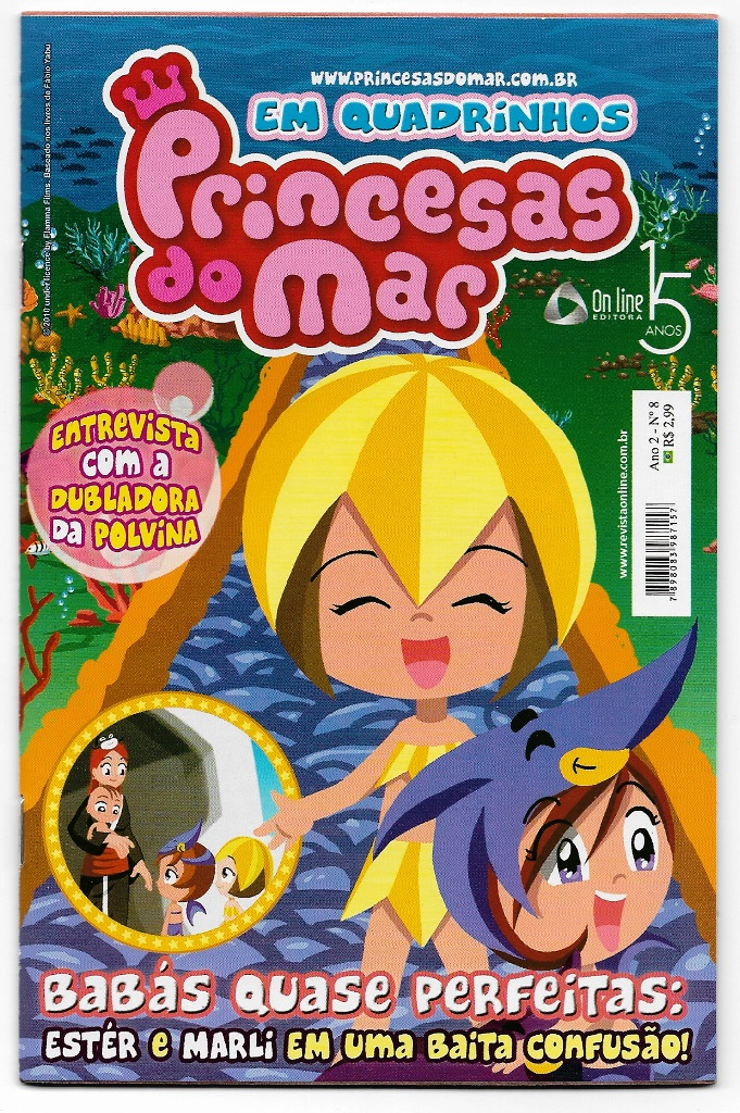 PRINCESAS DO MAR nº08 - EDITORA ON LINE