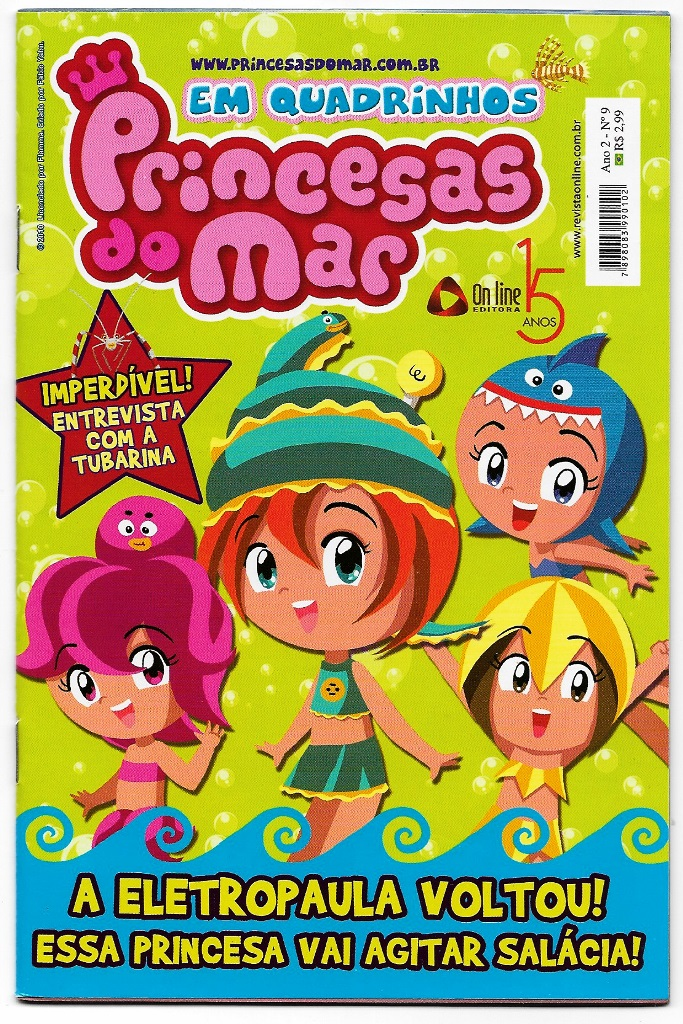 PRINCESAS DO MAR nº09 - EDITORA ON LINE