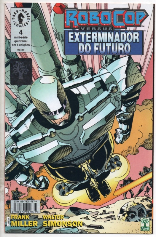 ROBOCOP vs EXTERMINADOR DO FUTURO - PARTE 4 - ED. ABRIL