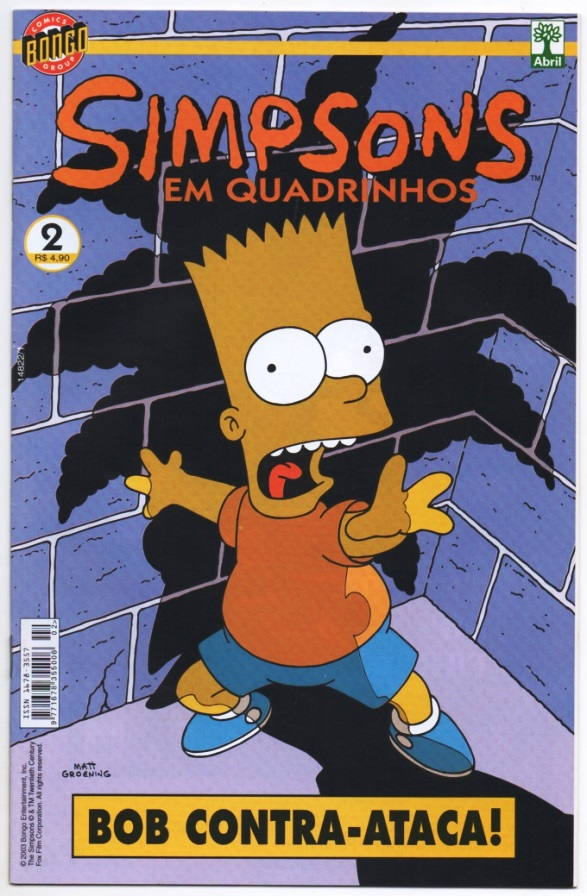 OS SIMPSONS nº02 - EDITORA ABRIL
