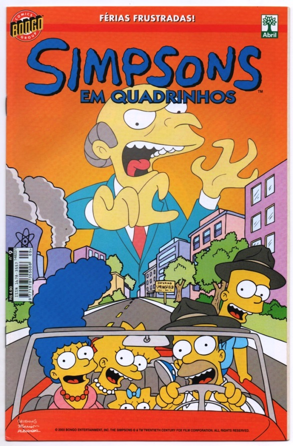 OS SIMPSONS nº09 - EDITORA ABRIL