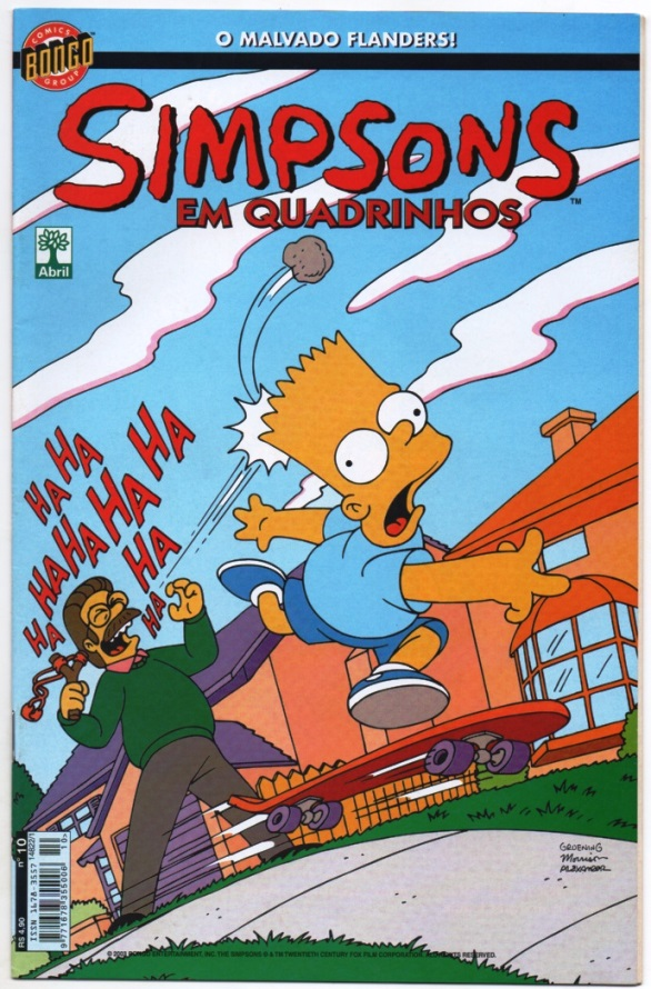 OS SIMPSONS nº10 - EDITORA ABRIL