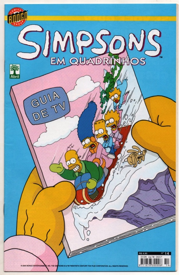 OS SIMPSONS nº14 - EDITORA ABRIL