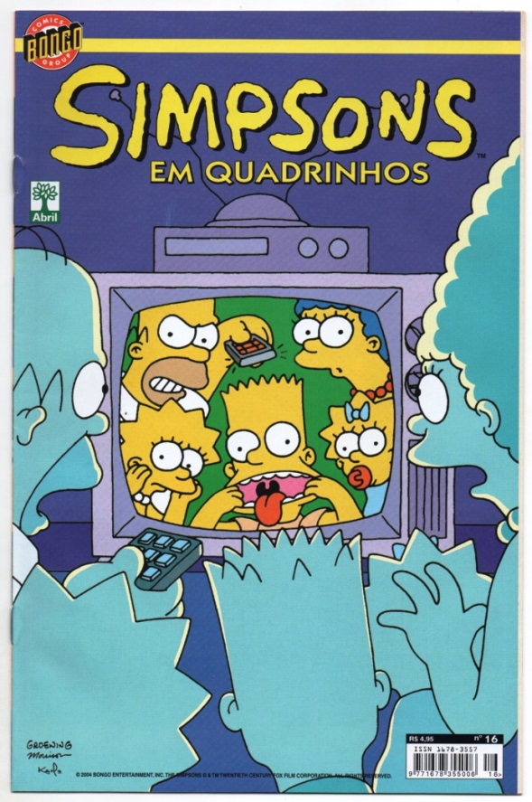 OS SIMPSONS nº16 - EDITORA ABRIL