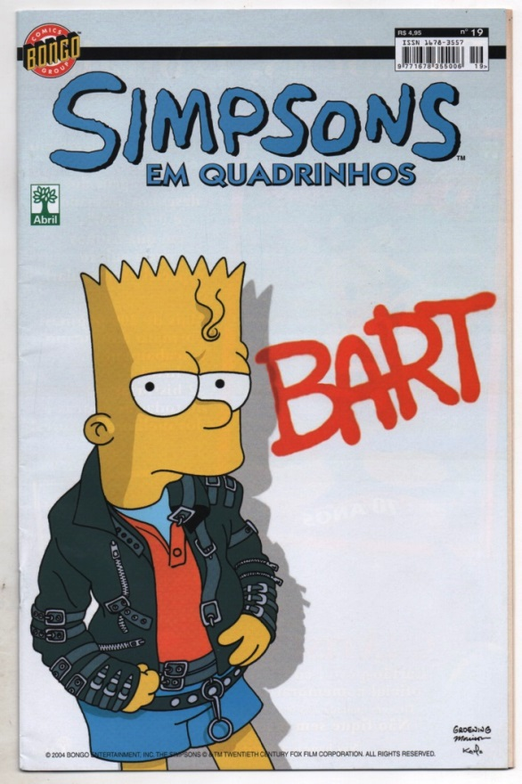 OS SIMPSONS nº19 - EDITORA ABRIL