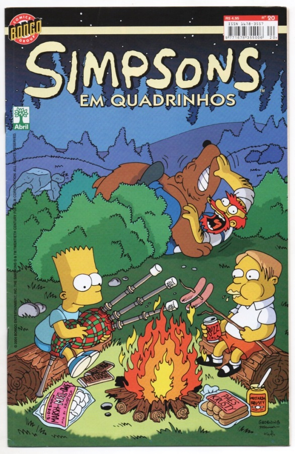OS SIMPSONS nº20 - EDITORA ABRIL