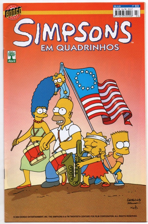 OS SIMPSONS nº23 - EDITORA ABRIL