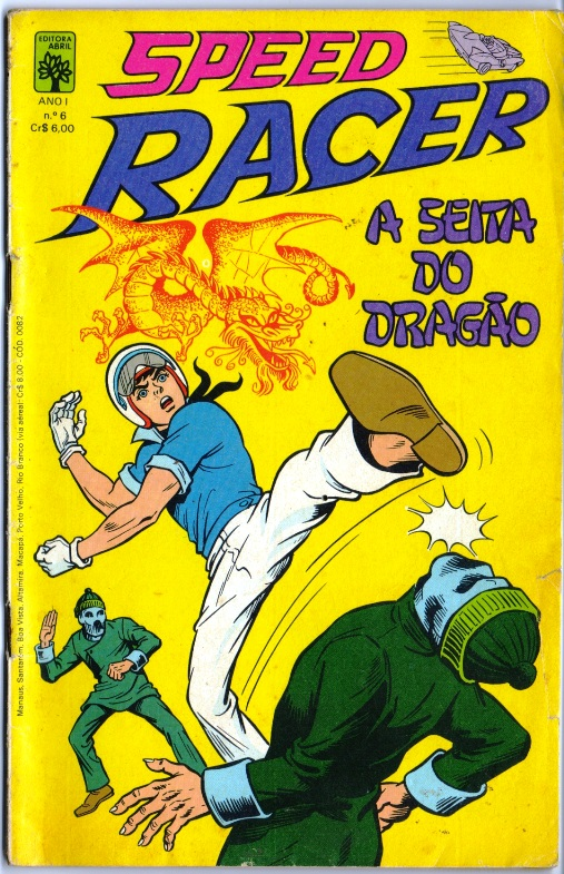 SPEED RACER nº06 - EDITORA ABRIL