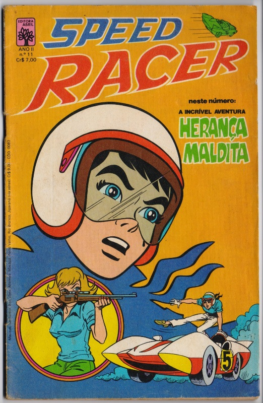 SPEED RACER nº11 - EDITORA ABRIL