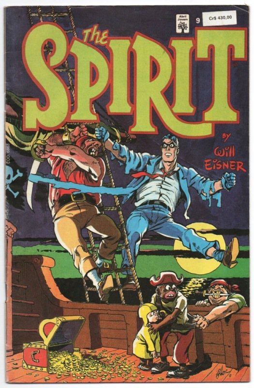 THE SPIRIT n°09 - EDITORA ABRIL