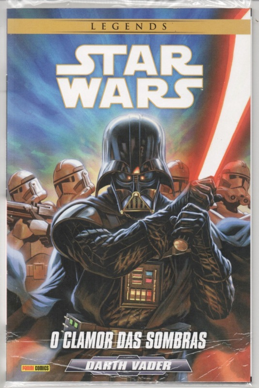 STAR WARS LEGENDS - DARTH VADER - CLAMOR DAS SOMBRAS - PANINI
