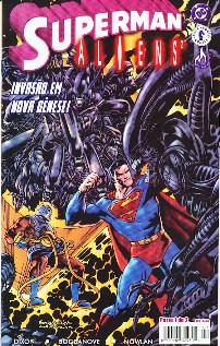 SUPERMAN vs ALIENS 2 - PARTE 01 - EDITORA MYTHOS