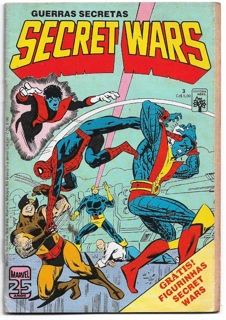 SECRET WARS - ED. ABRIL - nº03