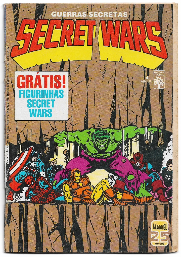 SECRET WARS - ED. ABRIL - nº04