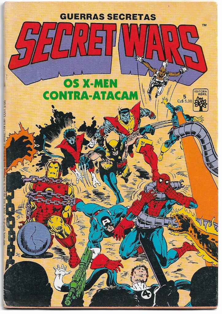 SECRET WARS - ED. ABRIL - nº05