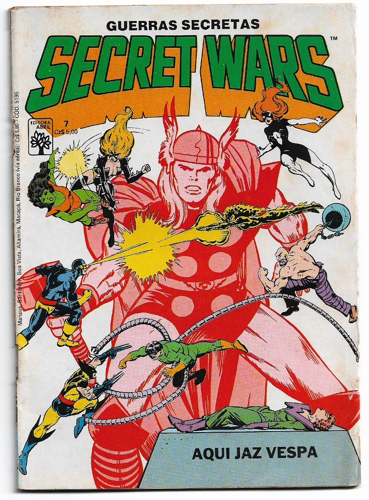 SECRET WARS - ED. ABRIL - nº07