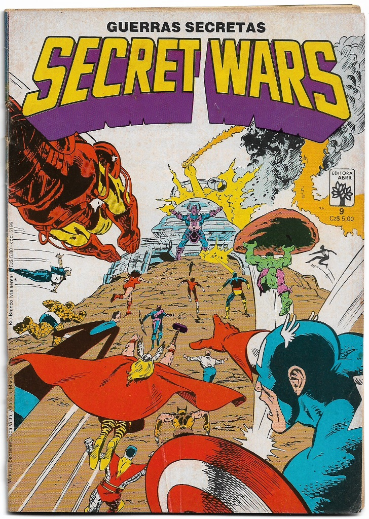SECRET WARS - ED. ABRIL - nº09