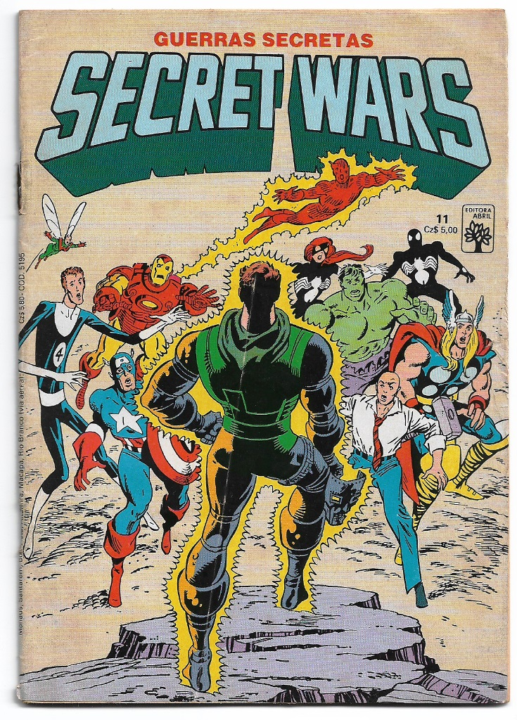 SECRET WARS - ED. ABRIL - nº11