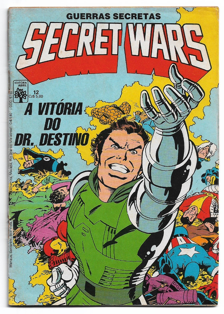 SECRET WARS - ED. ABRIL - nº12