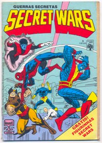 SECRET WARS nº03 - EDITORA ABRIL