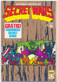 SECRET WARS nº04 - EDITORA ABRIL