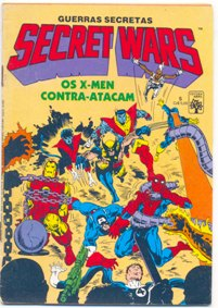 SECRET WARS nº05 - EDITORA ABRIL