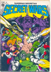 SECRET WARS nº06 - EDITORA ABRIL