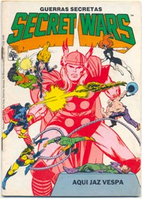 SECRET WARS nº07 - EDITORA ABRIL