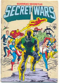 SECRET WARS nº11 - EDITORA ABRIL