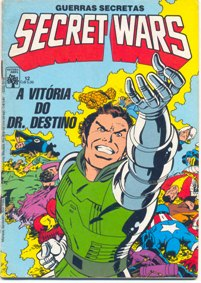 SECRET WARS nº12 - EDITORA ABRIL