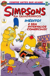 OS SIMPSONS nº001 - EDITORA ABRIL