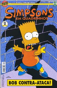 OS SIMPSONS nº002 - EDITORA ABRIL