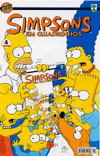 OS SIMPSONS nº004 - EDITORA ABRIL