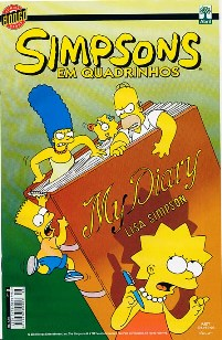 OS SIMPSONS nº008 - EDITORA ABRIL