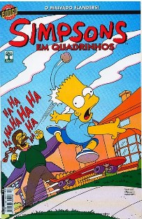 OS SIMPSONS nº010 - EDITORA ABRIL