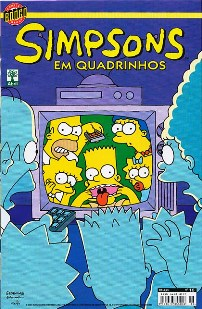 OS SIMPSONS nº016 - EDITORA ABRIL