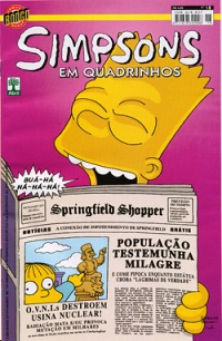 OS SIMPSONS nº018 - EDITORA ABRIL