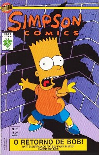 OS SIMPSONS nº002 - EDITORA GRUPO EDITORIAL - 1996