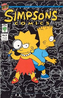OS SIMPSONS nº003 - EDITORA GRUPO EDITORIAL - 1996