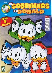 OS SOBRINHOS DO DONALD nº01 - EDITORA ABRIL
